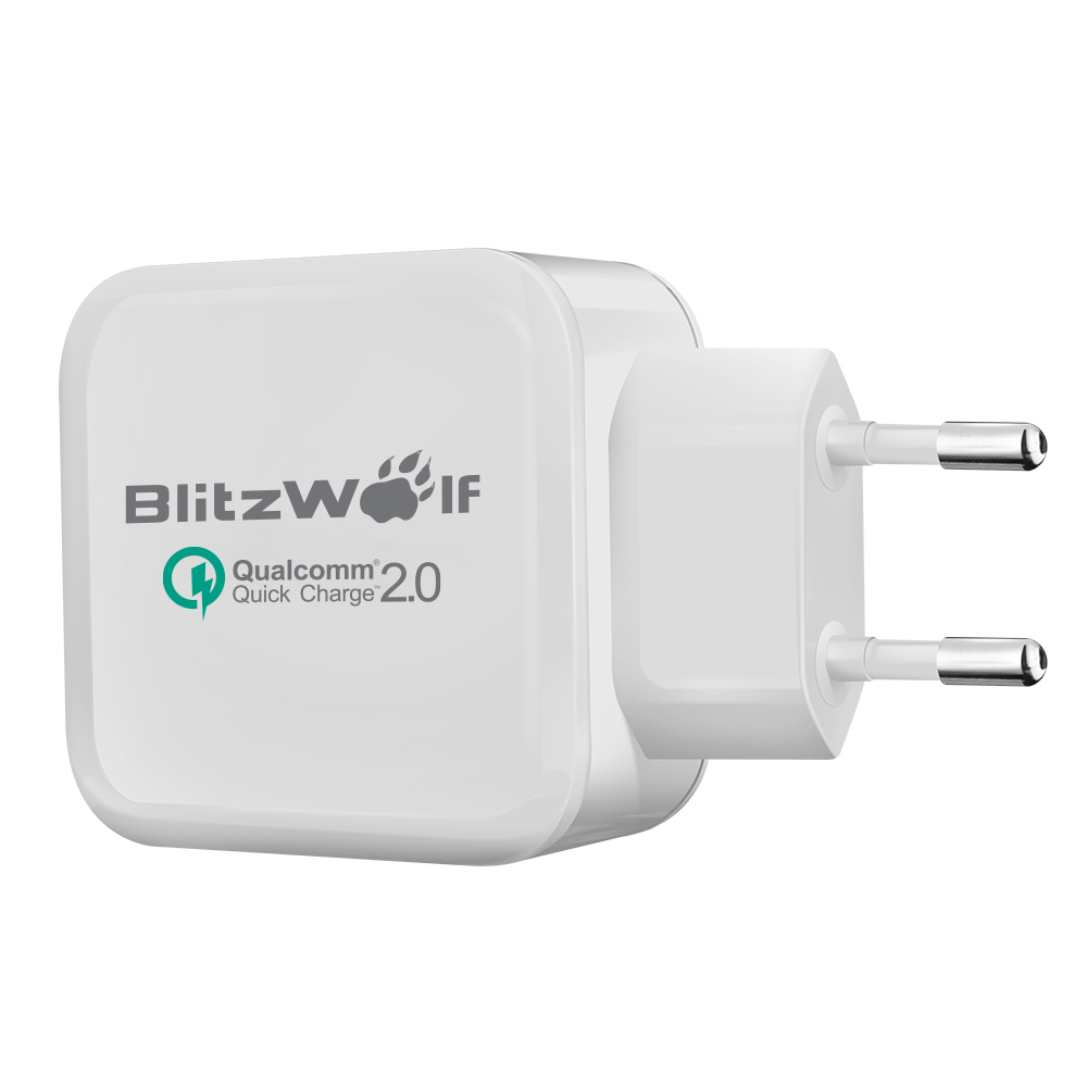 Eu To Aus Travel Adapter Qc2 0 Qc3 0 Adapter 9v 1 67a Android Adapter Realm Microsoft Xbox Wireless Adapter Xbox 360: [Qualcomm Certified] BlitzWolf QC2.0+2.4A 30W Dual USB EU
