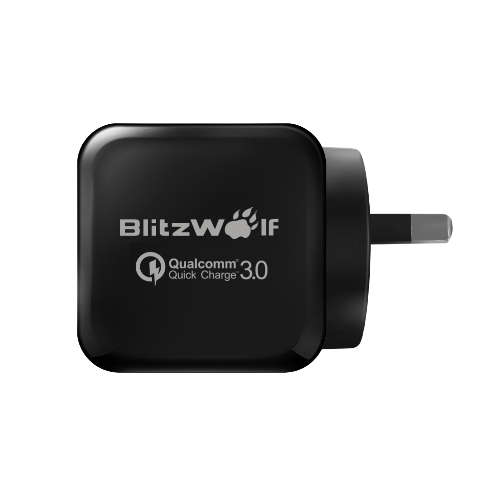[Qualcomm Certified] BlitzWolf® BW-S6 QC3.0+2.4A 30W Dual USB Charger AU Adapter With Power3S Tech