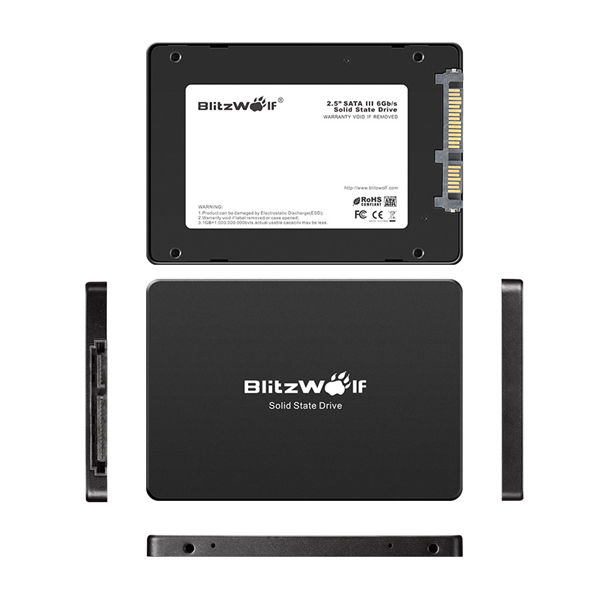 BlitzWolf® BW-D1 120G 2.5 inch SATA3 Solid State Drive SSD Hard Disk