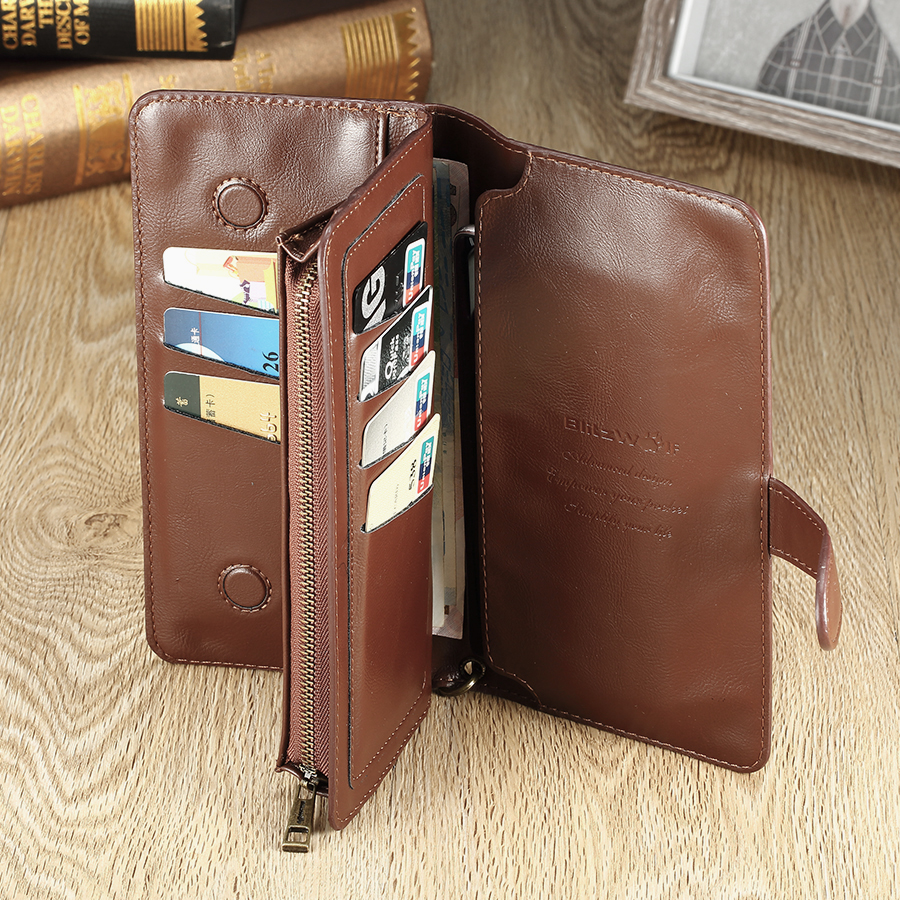BlitzWolf® BW-TB1 Universal Multi-functional Wallet Case Bag For 5.5-Inch Smartphone