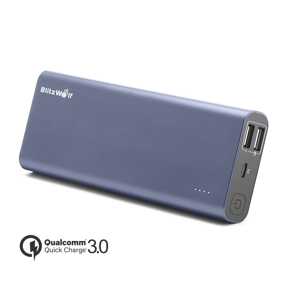 [Qualcomm Certified] BlitzWolf® BW-P5 15600mAh Quick Charge 3.0 Dual USB Power Bank