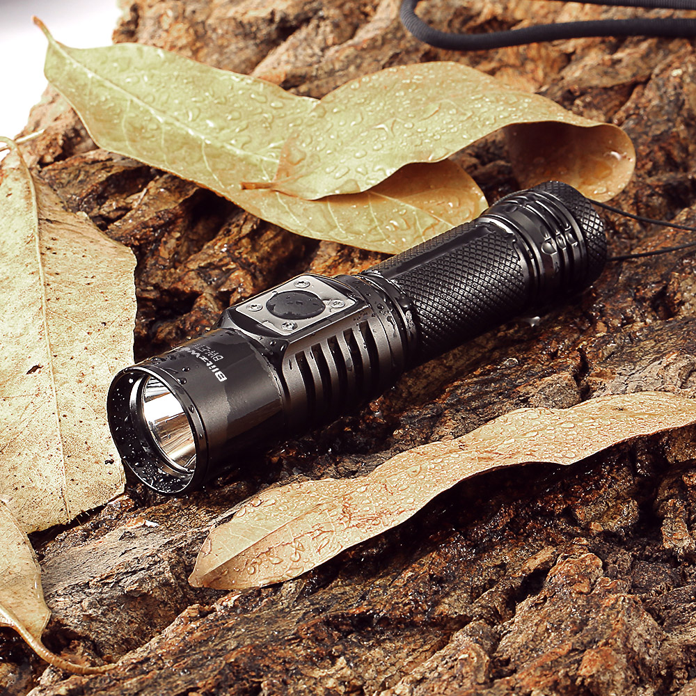 Blitzwolf Bw Et1 Xp L V6 750lm Stepless Dimming Mini Edc Led Simple High Power Flashlight Circuit Utilizes A 2high Efficiency Constant Current Enables Maximum Output Up To 600 Lumens 3driven By 1 X 14500 Aa Battery For Runtime
