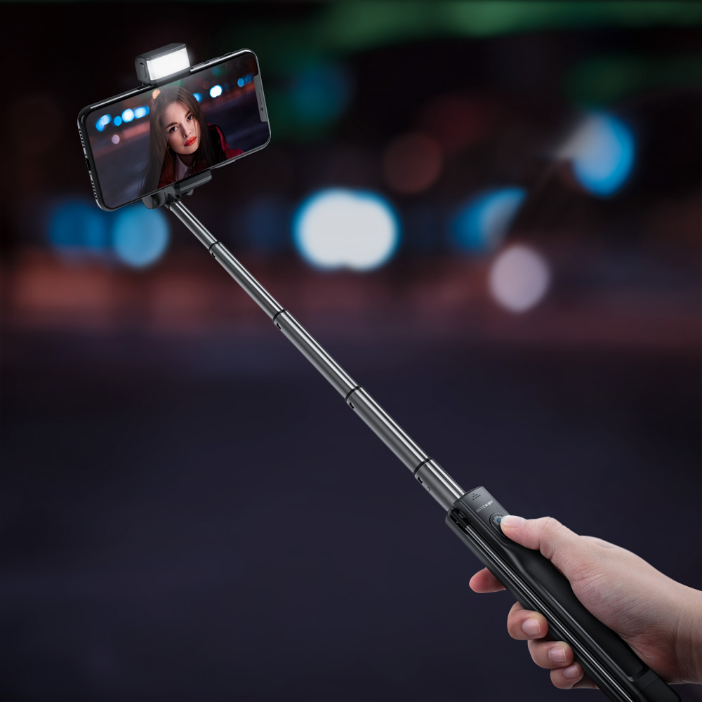 Tripod Selfie Stick with Fill Light
