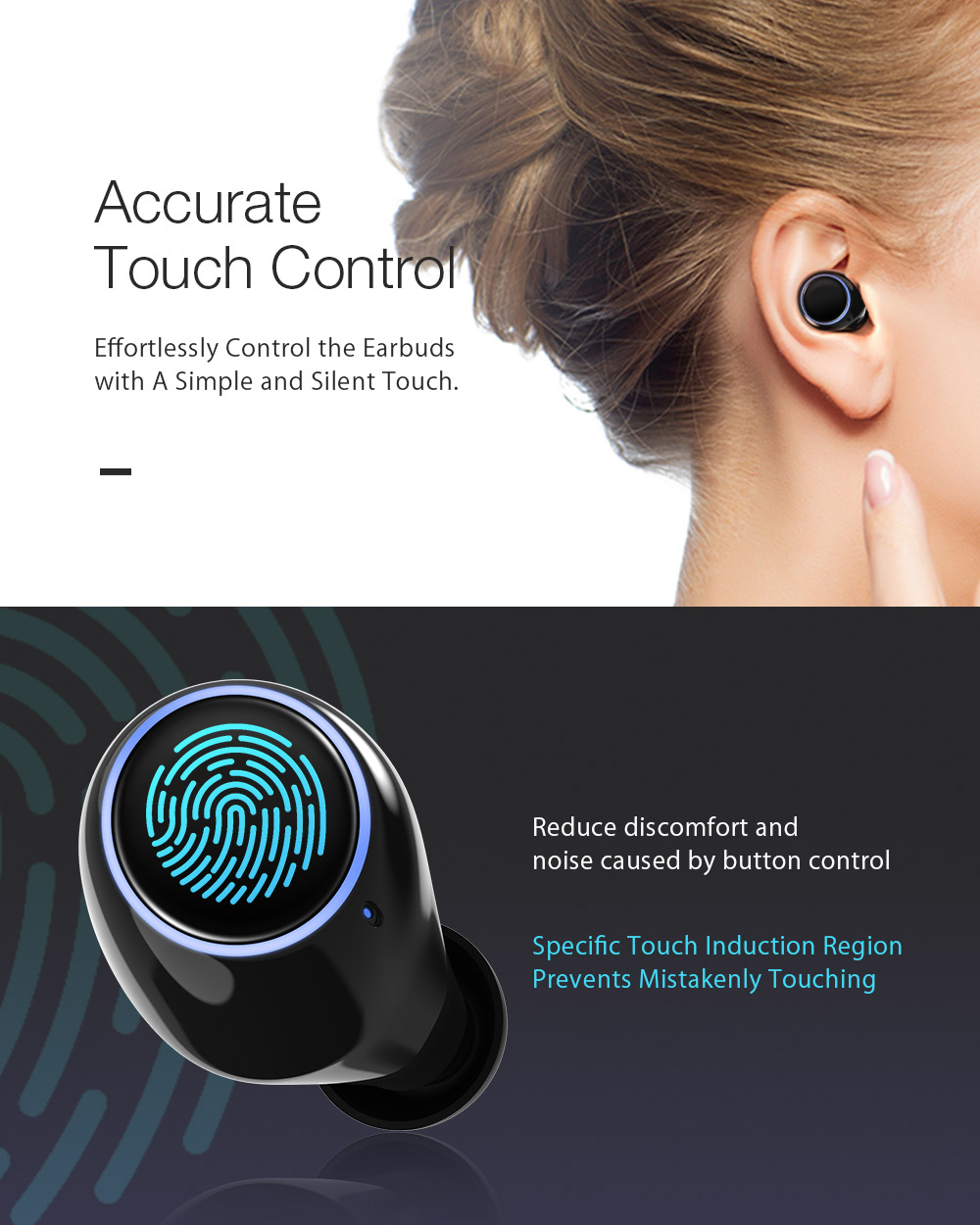 dcf77b283b3 ... BW-FYE3 Bluetooth 5.0 2600mAh True Wireless Earbuds when you purchased  at Amazon, contact service@blitzwolf.com to get a promotion code.