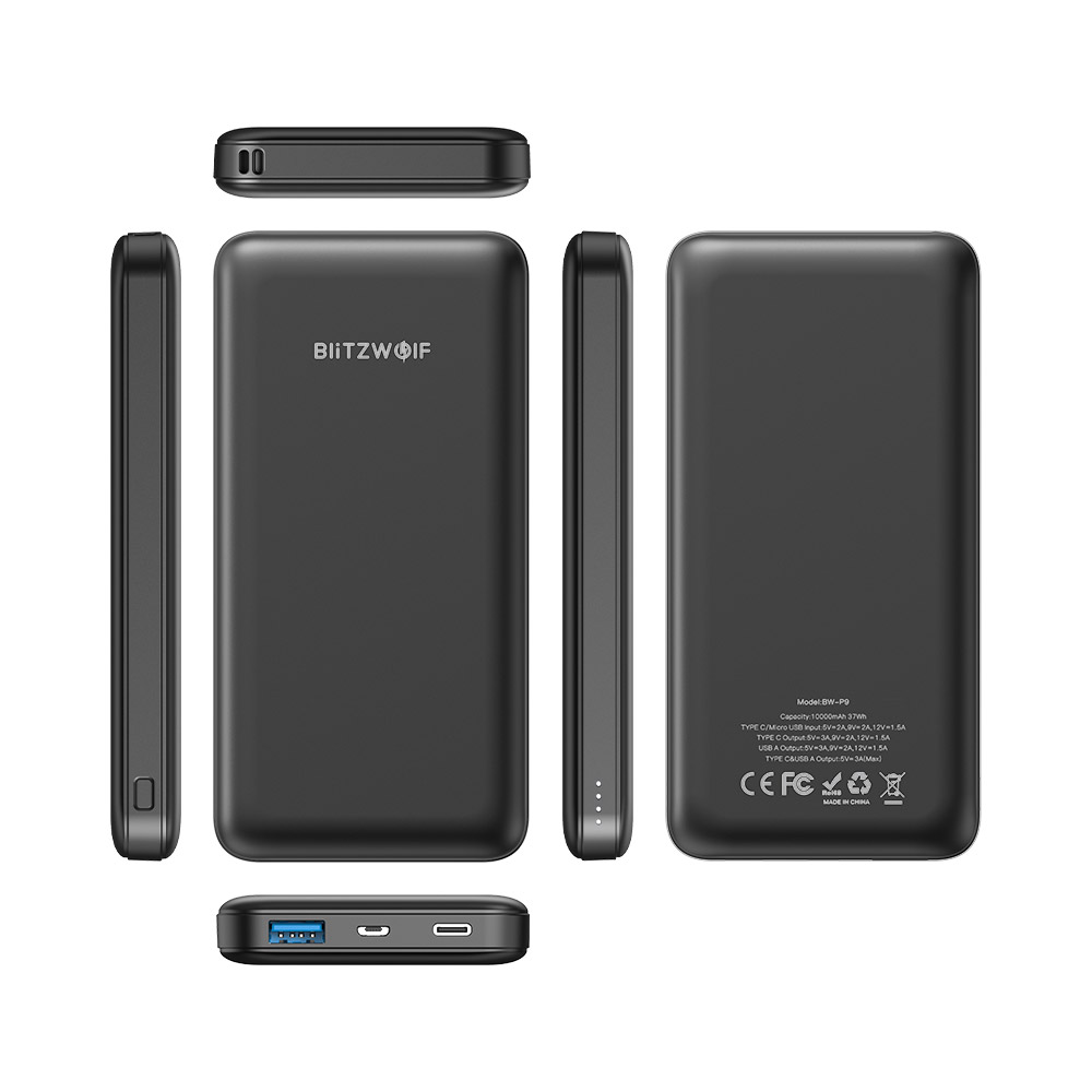 10000mAh Type-C USB Power Bank