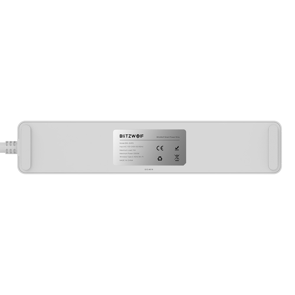 15A 3300W Smart Power Strip