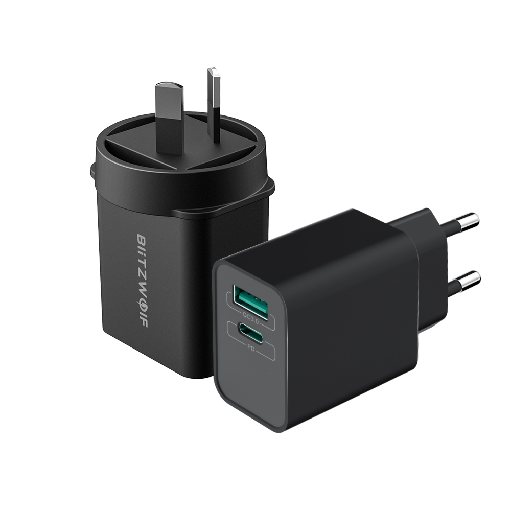 18W Type-C PD USB QC3.0 Charger