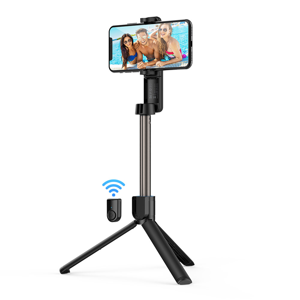 Selfie Stick with Rotatable Clamp