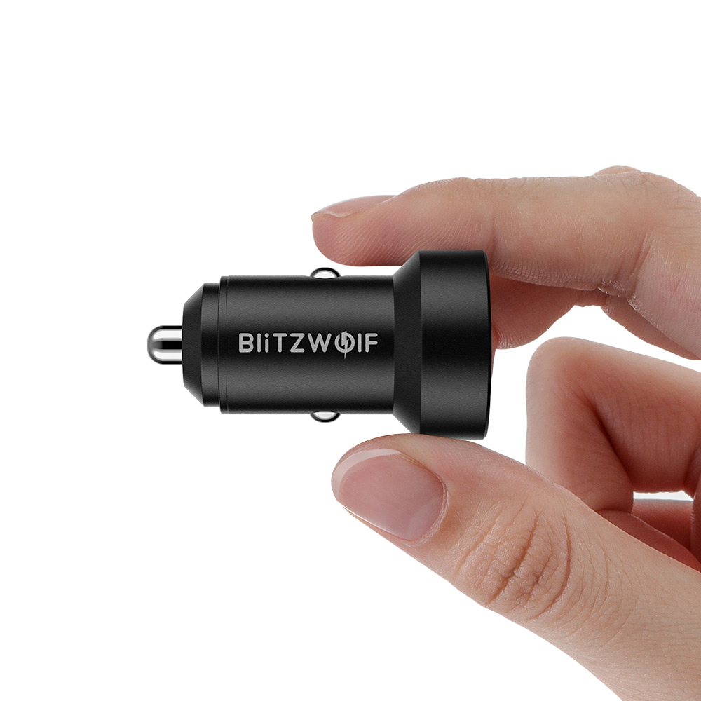 24W QC3.0 Dual USB Car Charger