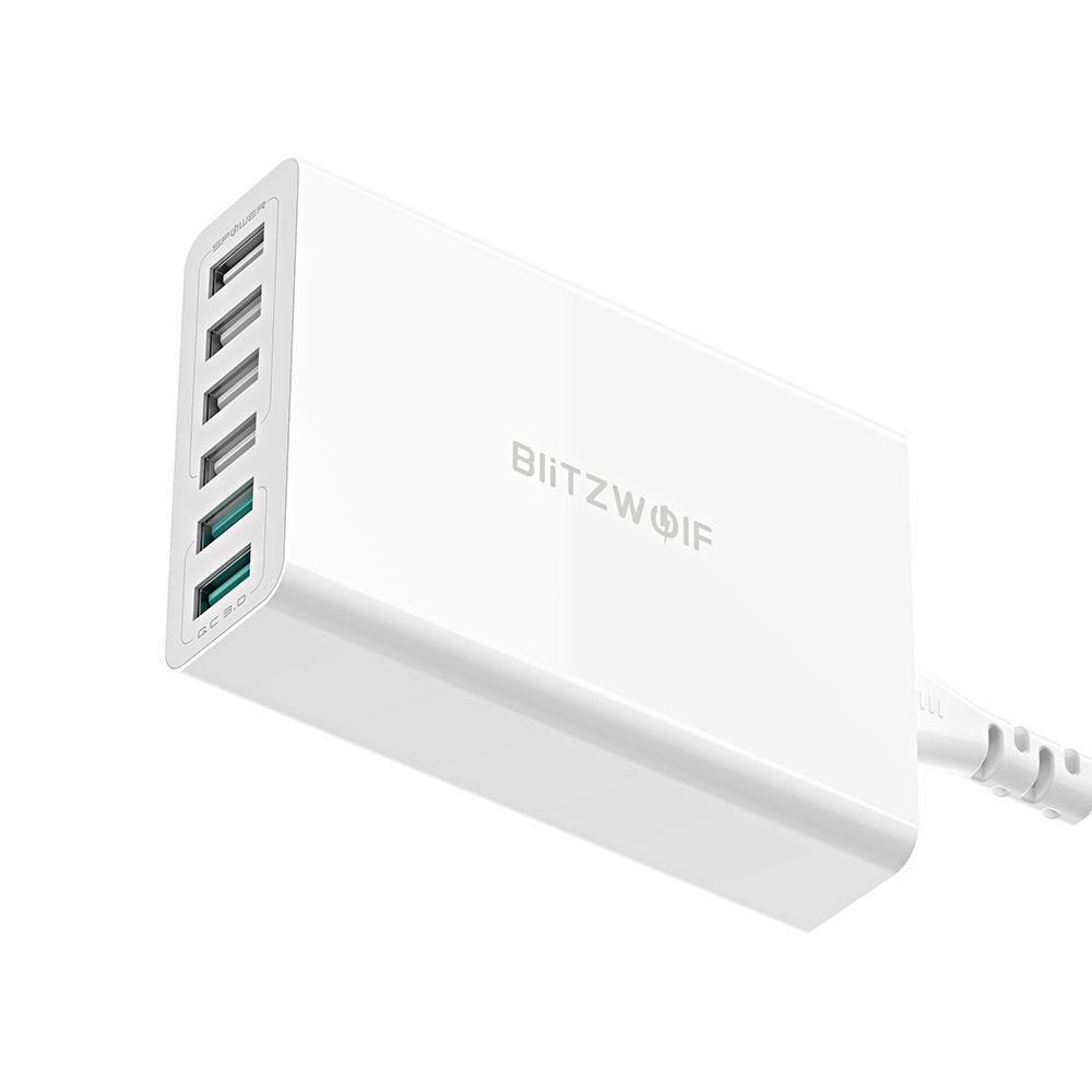 60W QC3.0 6-Ports Charger Adapter