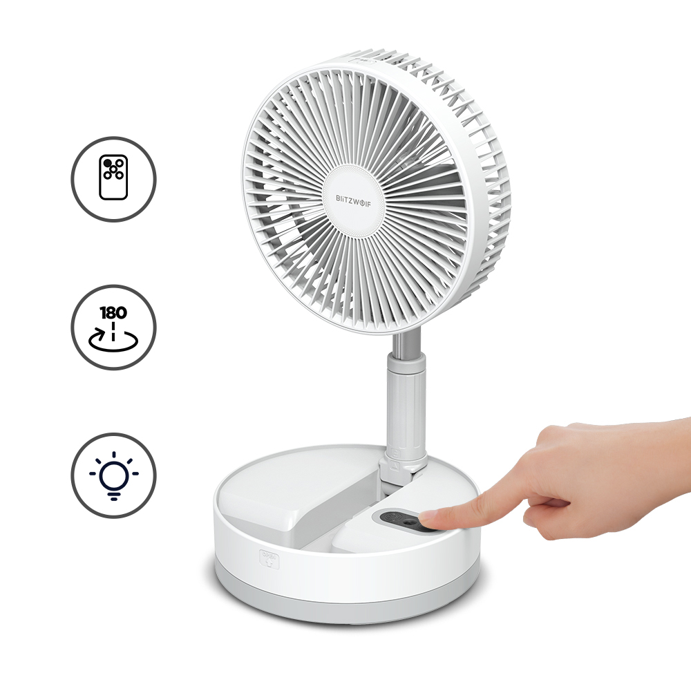 Folding Fan with Remote Control