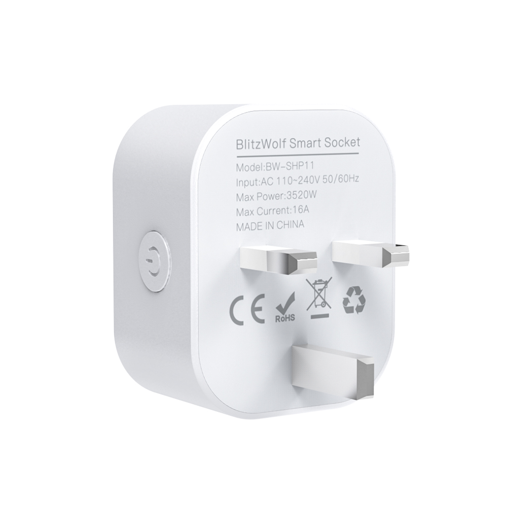 16A 3520W Smart Socket UK