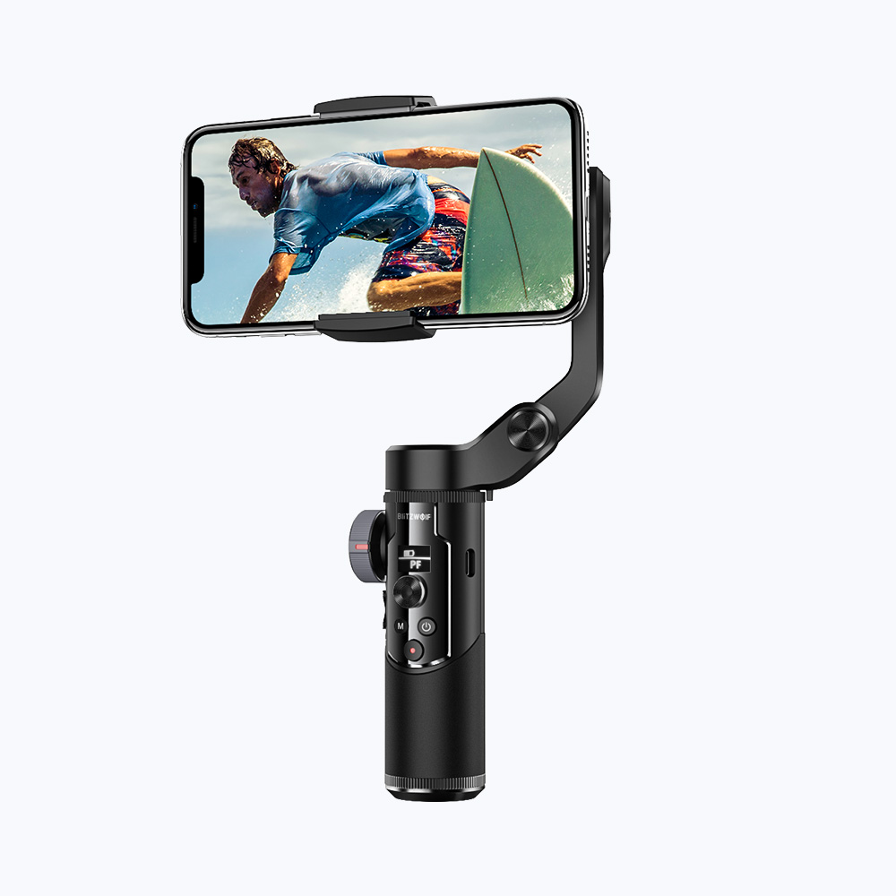 Mobile Phone 3-Axis Gimbal Stabilizer