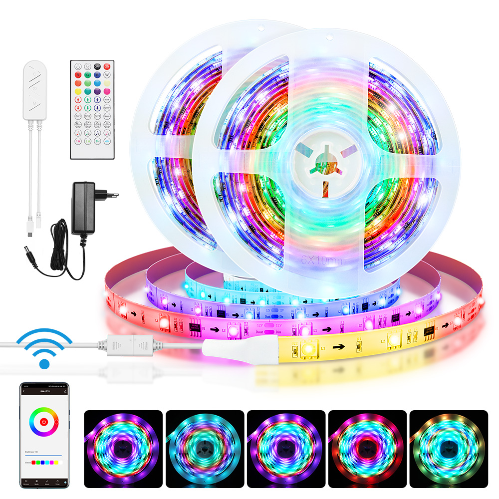 IC Smart Wi-Fi RGB Magic Strip Kit 5M/10M