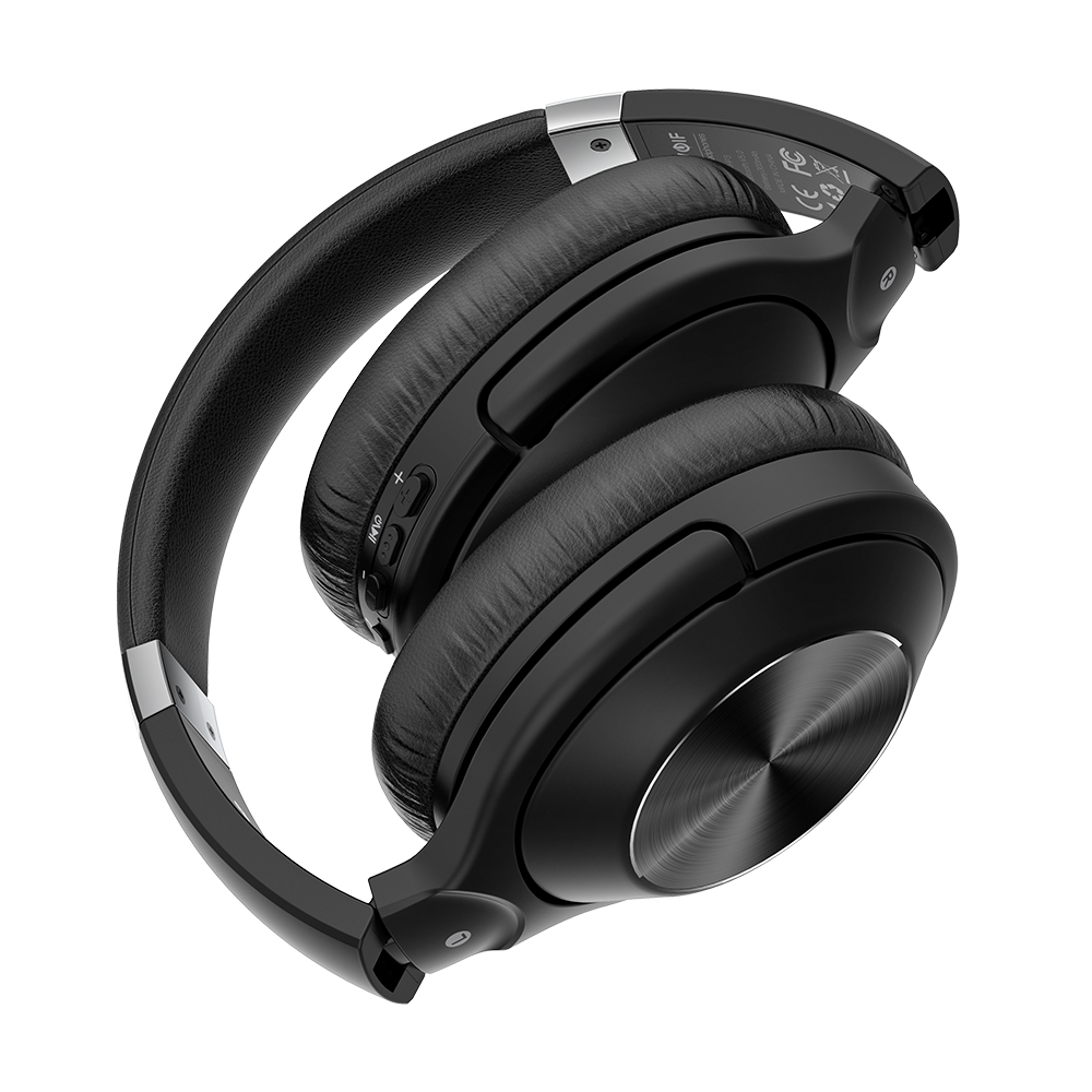 Wireless Over-Ear Headphones Noise Canceling Mic