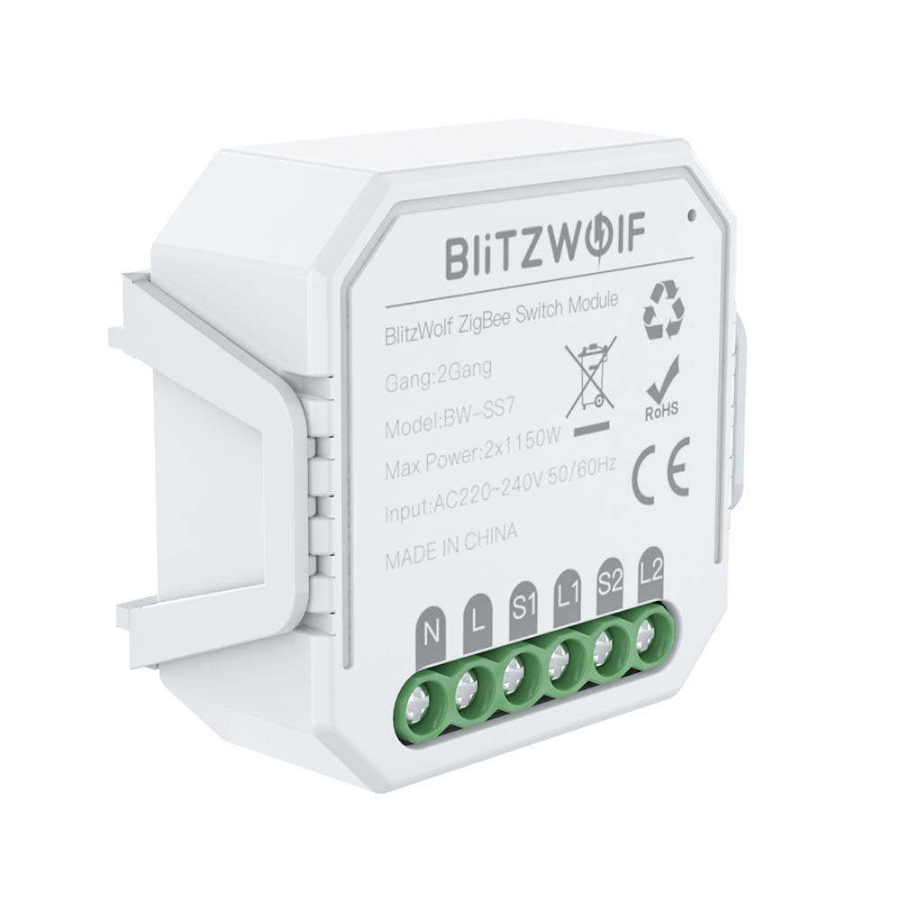 ZigBee3.0 Smart Light Switch Module 1/2Gang