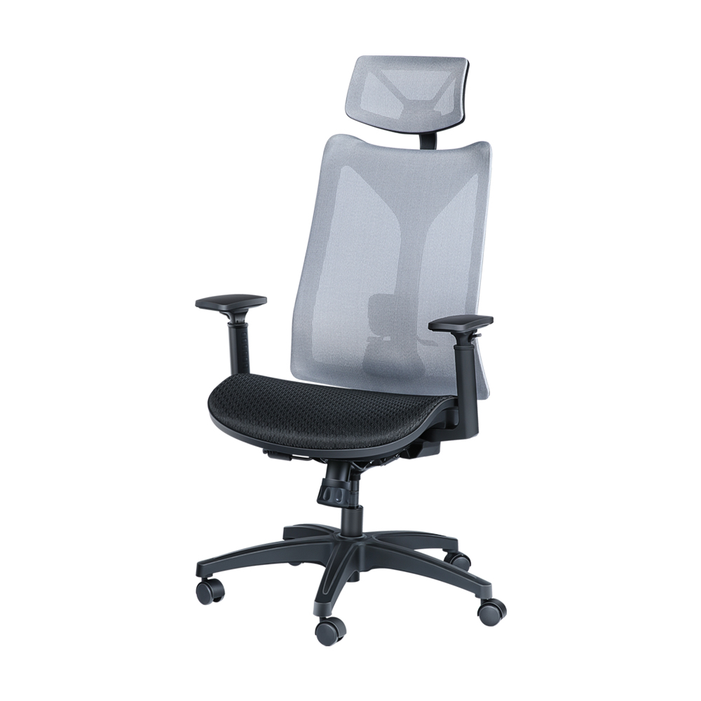 Mesh Chair with Headrest