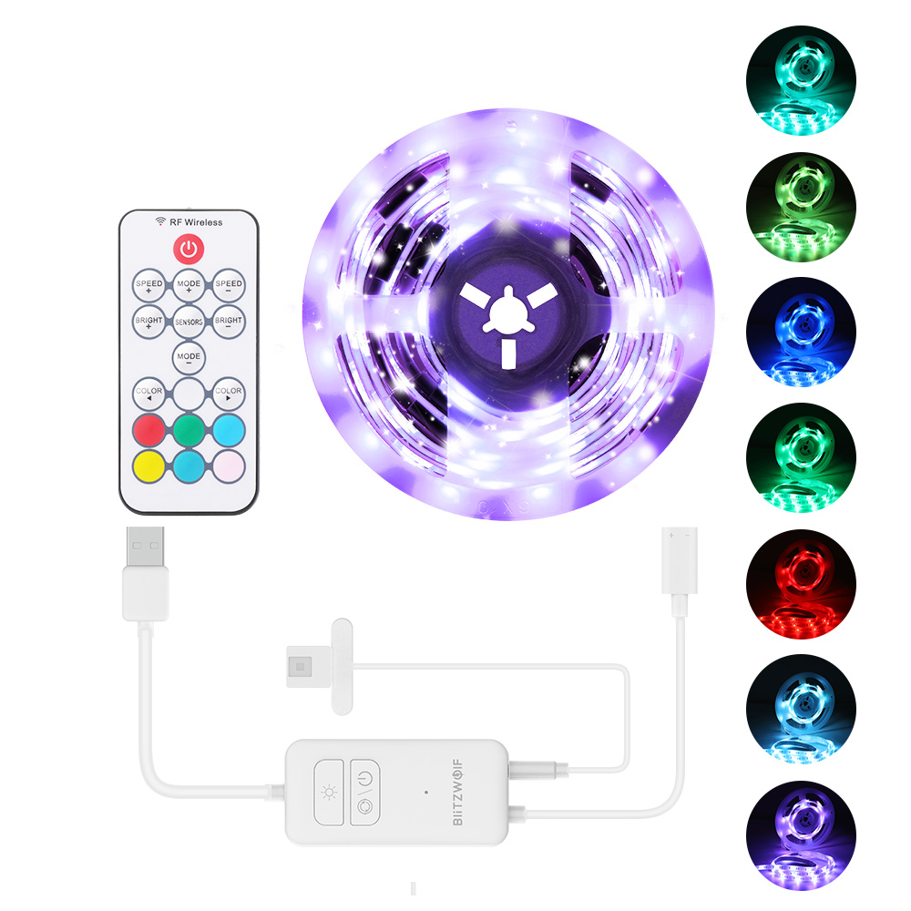USB RGB TV Strip Light Kit 2M