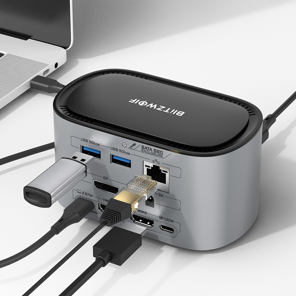 14 in 1 USB-C Docking Station