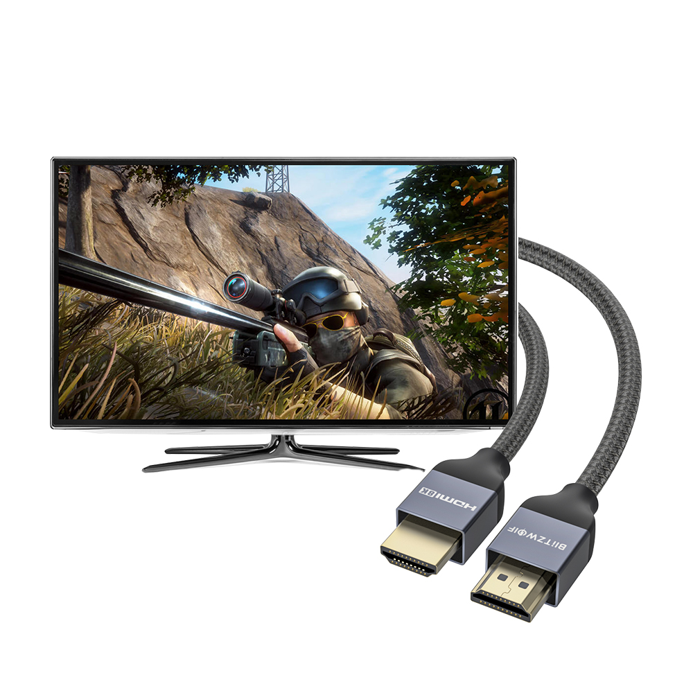 8K 48Gbps HDMI to HDMI Cable